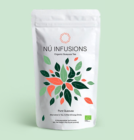 Nu Infusions Tea package